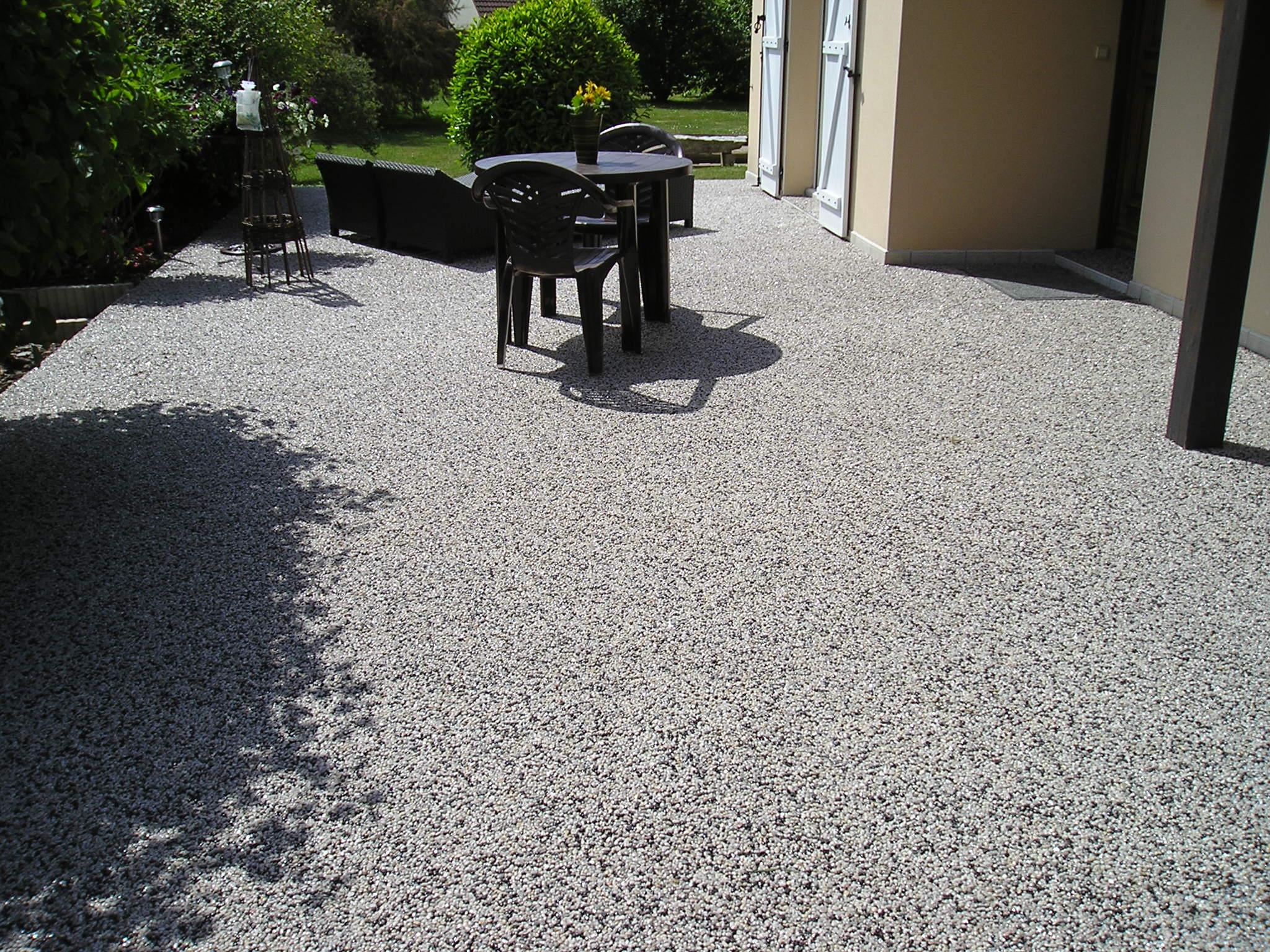 Revetement terrasse exterieure resine decoration for Resine epoxy exterieur